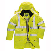 Hi-vis 7-in-1 traffic jacket