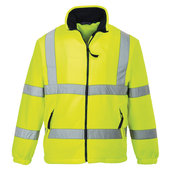 Hi-vis mesh lined fleece (F300)