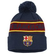 Adult FC Barcelona text beanie