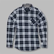 Ivory - long sleeve check shirt