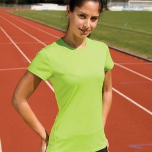 Spiro Ladies Quick Dry S/Sleeve T-Shirt Thumbnail