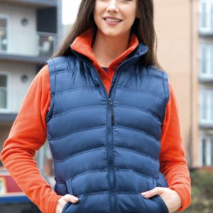Result Urban Lady Ice Bird Padded Gilet Thumbnail