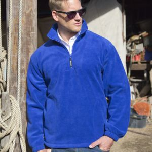 Unlined Active 1/4 Zip Fleece Top Thumbnail
