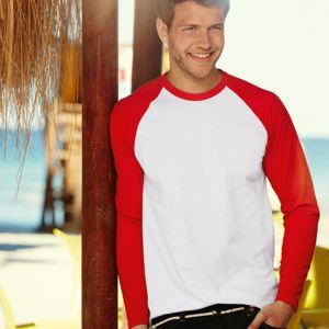 Long sleeve baseball tee Thumbnail