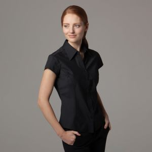 Women's bar blouse cap sleeved Thumbnail
