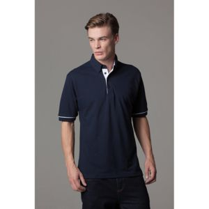 Button-down collar contrast polo Thumbnail