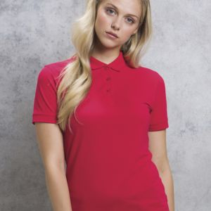 Kustom Kit Ladies Slim Fit S/S Polo Thumbnail