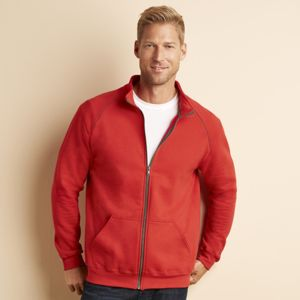 Premium cotton full-zip jacket Thumbnail