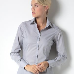 Kustom Kit Ladies L/S Business Shirt Thumbnail