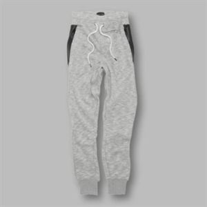 Grant - panelled cuffed joggers Thumbnail