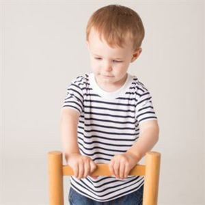 Short sleeve striped t-shirt Thumbnail