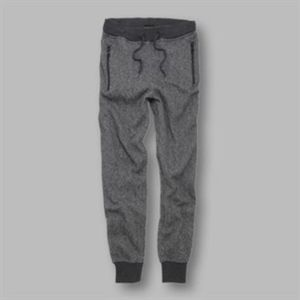 Hugo - detailed cuffed marl joggers Thumbnail